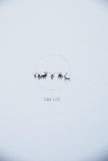 16Ciervos nieve
